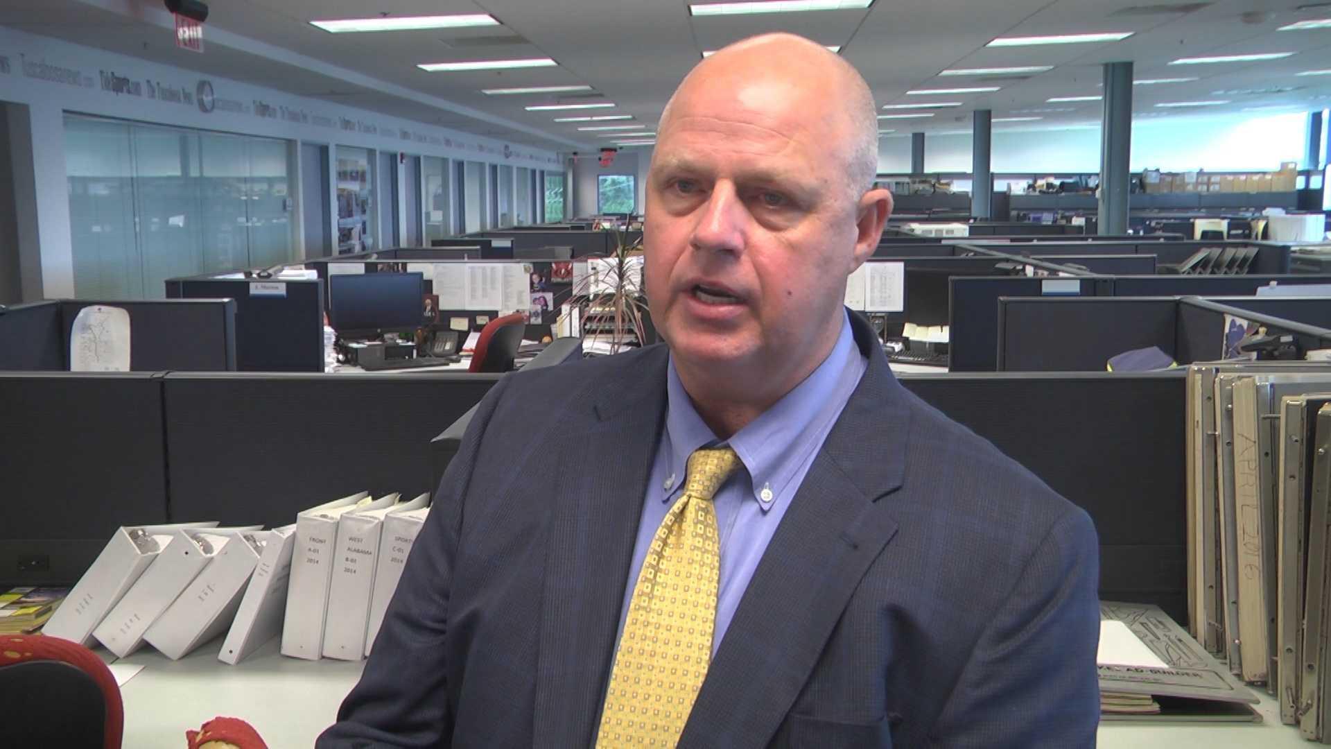 Elwin Crawford, Tuscaloosa EMS director
