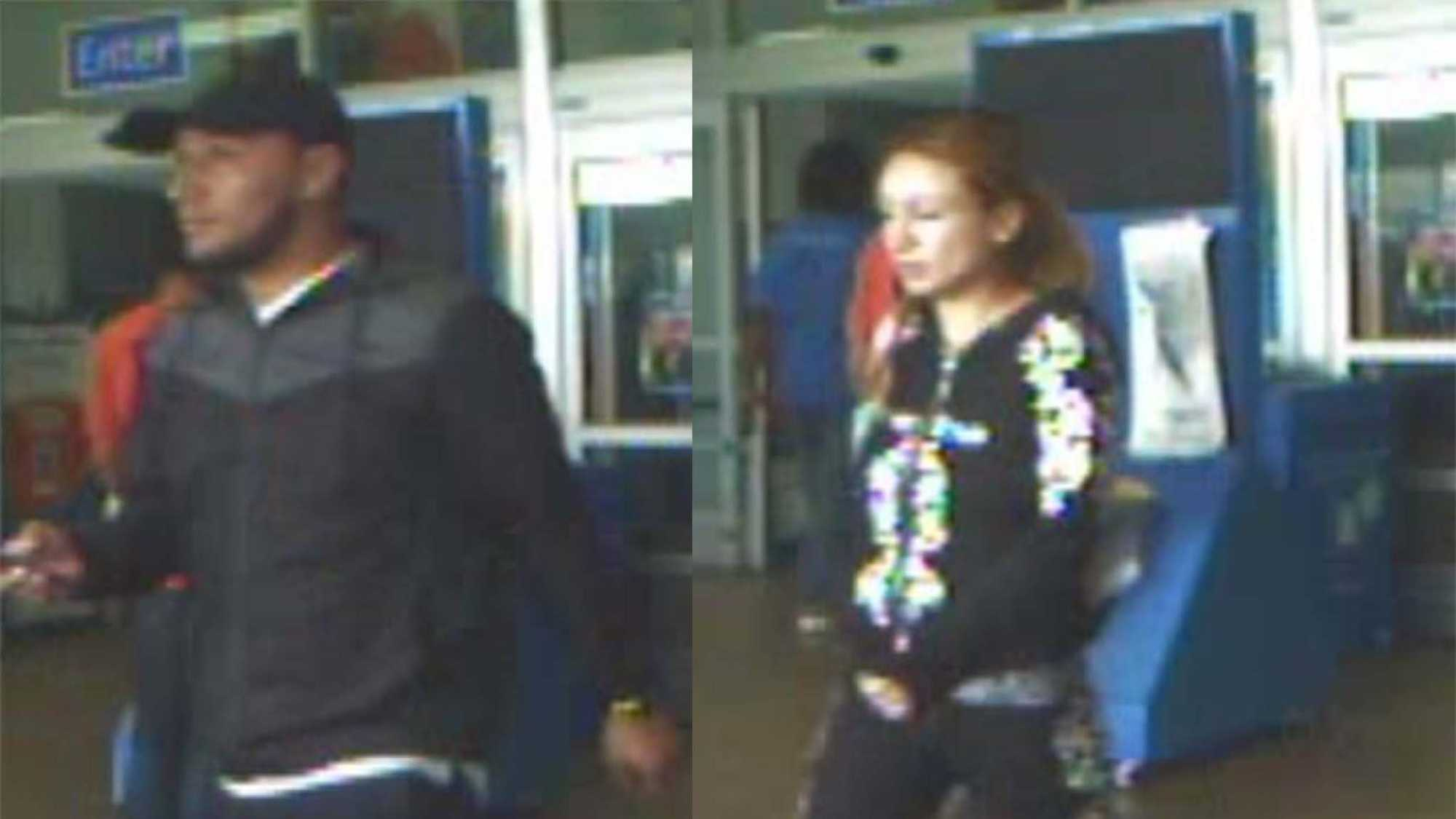 Authorities in Tuscaloosa are looking for a pair of thieves who robbed a large amount of money from a woman Saturday.