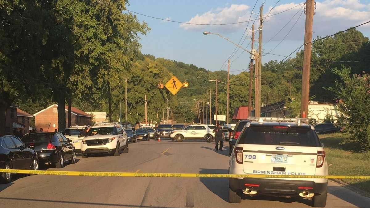 A person was shot and a Birmingham police officer was injured during an incident on the city's east side.