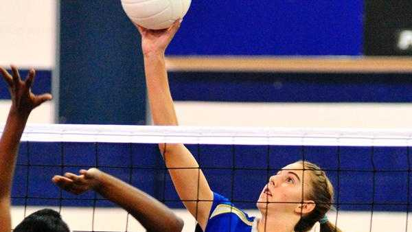 N. Surry Volleyball Spike - 29395903