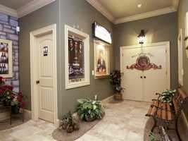 Entrance to the Home Theater