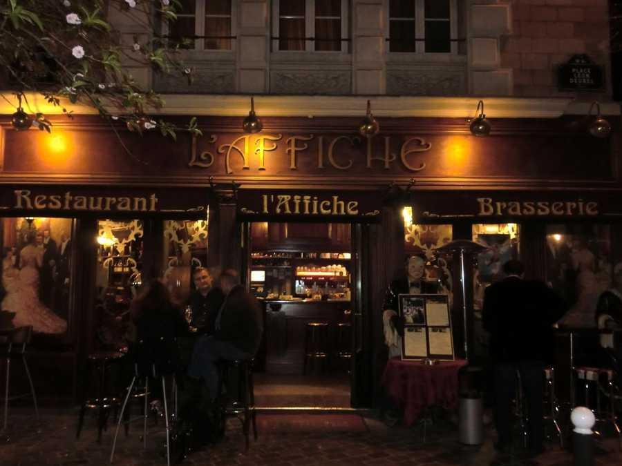 A l'Affiche Restaurant in Paris, France