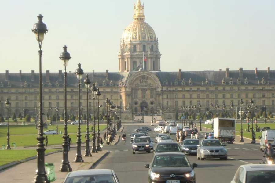 L'Hôtel national des Invalides in Paris, France. (Museum)