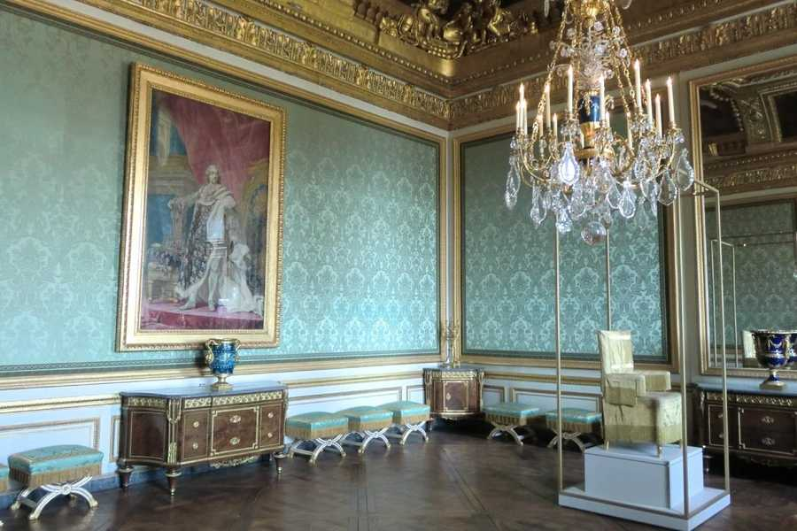 Château de Versailles,Louis XIV in Paris, France.