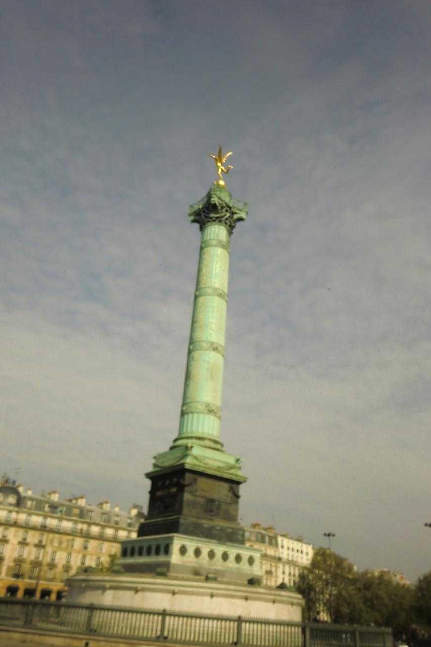 "Colonne de Juillet ""the Spirit of Freedom"" in Paris, France"