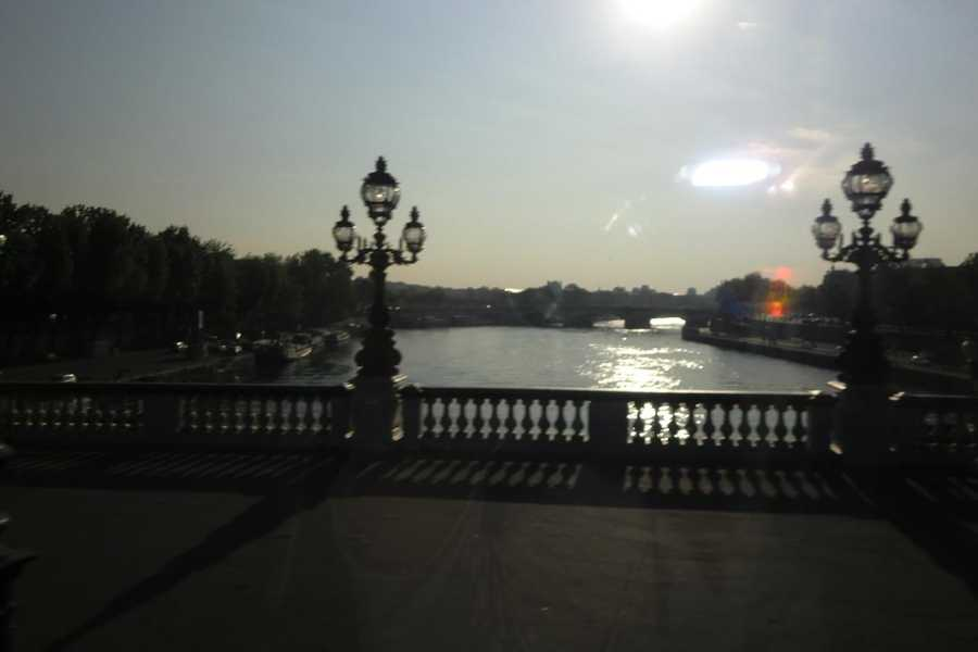 The beautiful river Seine is a sight to see and very romantic for a couple to walk and see at sunset or moonlight.