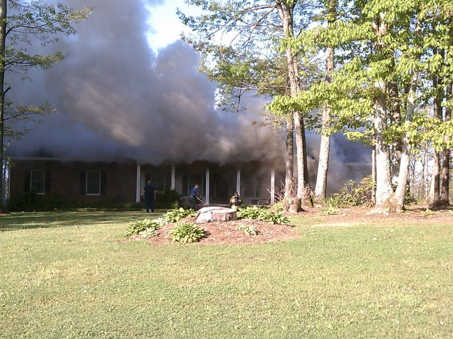 It occurred at 48 Saddle Mountain Church Road. Glade Creek's Fire Chief David Higgins said the fire was suspicious, and the SBI has been called in to investigate.