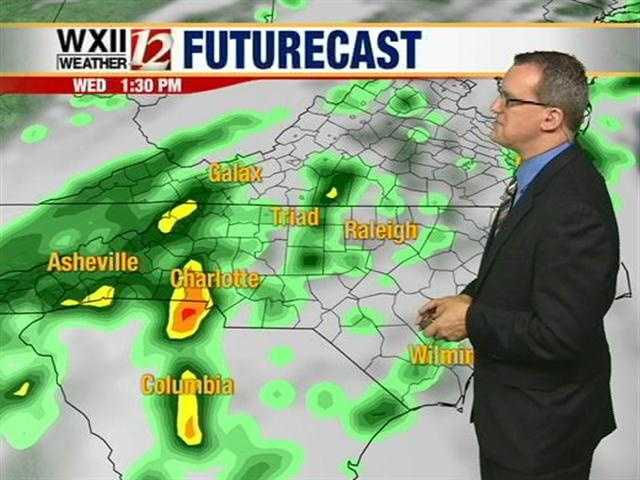 """Let's check the """"futurecast"""" at various hourly intervals."""