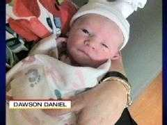 This is a photo of Dawson after he was born in early April.