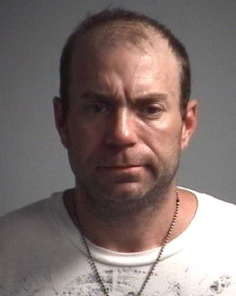 Channing Shoaf, 36: Charged with larceny.