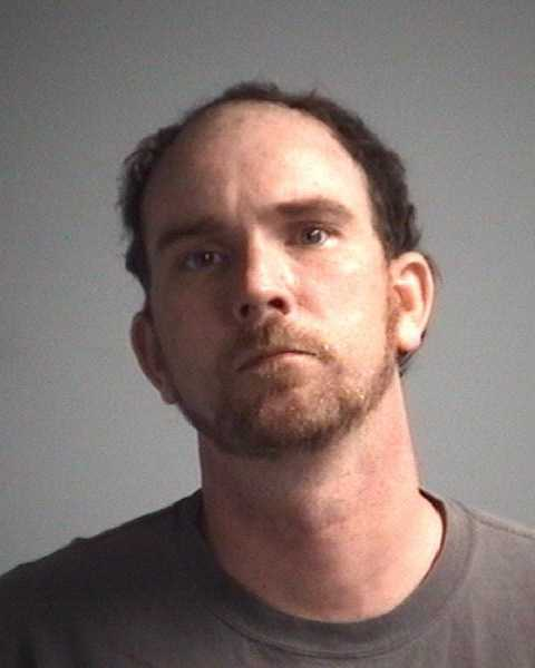 Tad Trickler, 35: Charged with larceny.