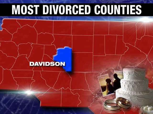 10.9% of adults are divorced in Davidson County.