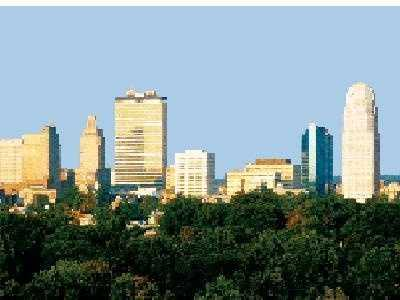 Winston-Salem has the lowest divorce percentage of the Triad's 3 largest cities at 9.5%.