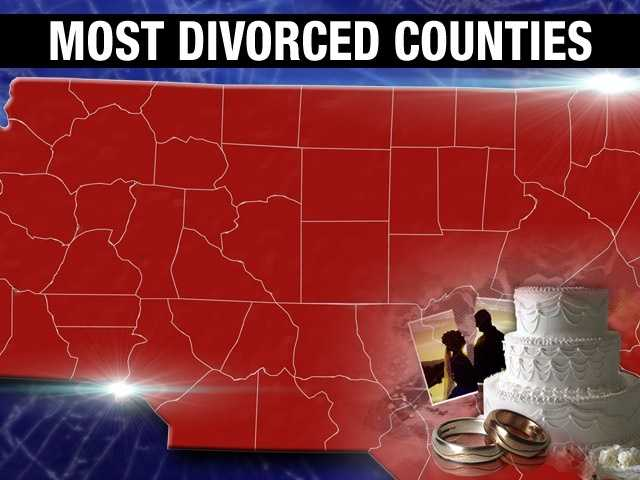 North Carolina has a statewide divorce percentage of 10.2%, with over 750,000 divorced adults living in the Tar Heel State.