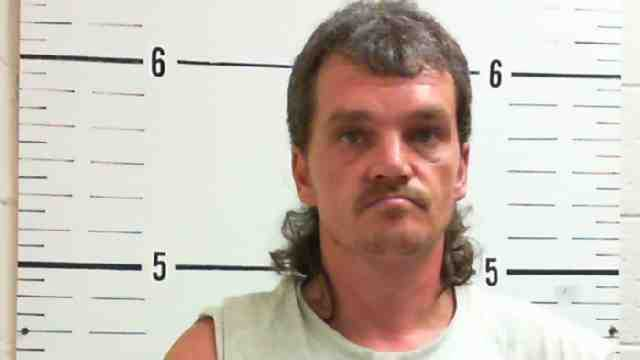 Besides facing the same charges as Misty Snow, Johnny Snow also is charged with DWI after crashing his vehicle while police tried to stop him. Police said he admitted to smoking meth before driving. (Surry Co. Jail)