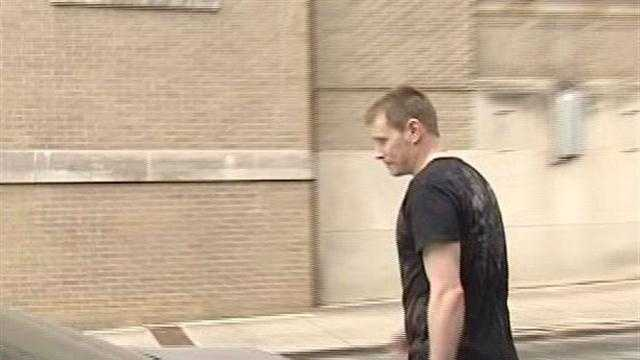 Exclusive video of Michael Slagle being released from jail