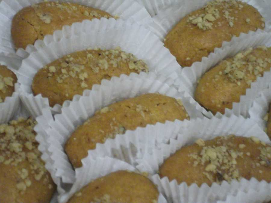 Melomakarona – Walnut Syrup Biscuits