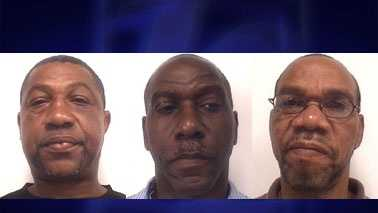 L-R: Timothy Winston, Rickie Leak and Olin Leak (Davidson Co. Sheriff's Office)
