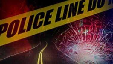 Car crash wreck accident police tape