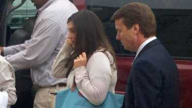 John Edwards arrives at court May 23, 2012 (Rich Cisney/WXII)