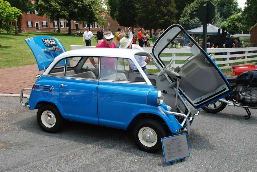 Old Salem Museums & Gardens hosted the largest gathering of vintage BMWs in North America on Saturday. Check out photos!