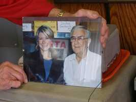 Here's Bob with his pal Martha Stewart. She stops by Kepley's twice a year while in town for furniture market.