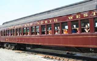 The NC Transportation Museum in Spencer gives 25-minute train rides on real locomotives. Kids can have birthday parties in a caboose or ride with Thomas the Train!