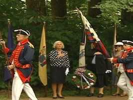 Visitors to the Guilford Courthouse National Military Park can see a Revolutionary War battlefield. The park does recreations of the historic battle in 1781 that brought many British casualties.