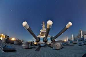 2011 marks the 50th anniversary of the Battleship North Carolina calling Wilmington home. Visitors can climb aboard and check out this impressive WWII ship. Concerts, reunions, and childrens events are also held at the USS North Carolina.