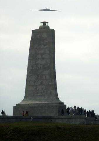 Want to see where NC got the name 'First In Flight'? Head to Kill Devil Hills and check out the Wright Brothers Memorial. The monument was built where the brothers successfully launched the first airplane flight.