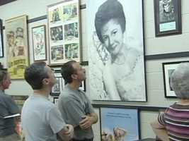 Come to Mt. Airy to see the Andy Griffith museum. The collection features hundreds of items from the life and career of Andy Griffith in movies, television and music as well as a variety of memorabilia.