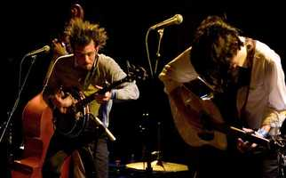 Avett Brothers- This folk rock band from Concord has seen their popularity soar recently. In 2011, they performed at the Grammys.
