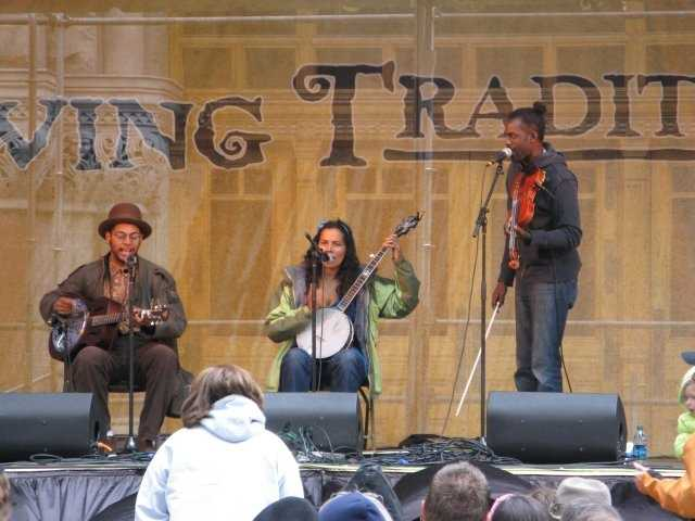Carolina Chocolate Drops- This unique band from Durham won a Grammy in 2010. They've used banjo, kazoo, jug, and fiddle in their music.