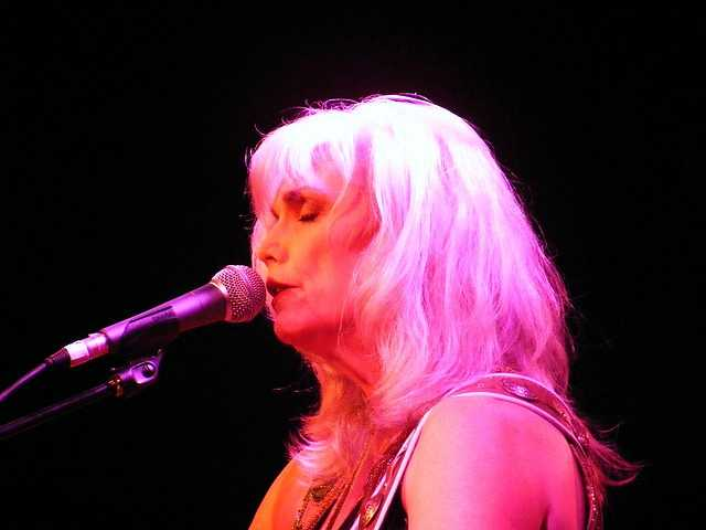 Emmylou Harris- The acclaimed singer-songwriter attended college at UNCG. She has performed with legends like Dolly Parton, The Band, and Bob Dylan.