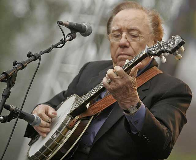Earl Scruggs- The 3-finger method for picking a banjo in bluegrass is called Scruggs style, named after the musician born in Scottsville, NC.