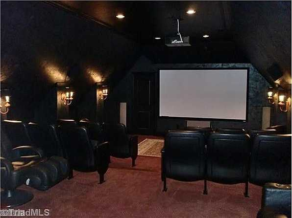 Home Theatre with seating for 16