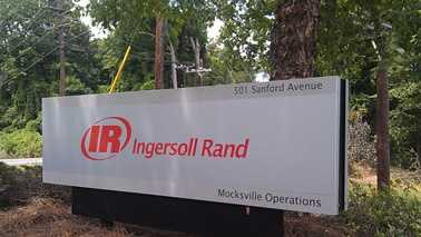 The Ingersoll Rand plant is the site for Monday's jobs announcement. (WXII)