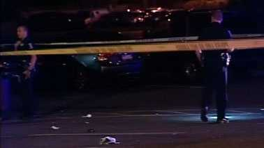 Crime scene outside El Paisano Restaurant and Bar (Courtesy WCNC)
