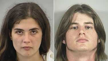 Jessica Summey, left, and Shaun Lundy, right (Randolph Co. Sheriff's Office)