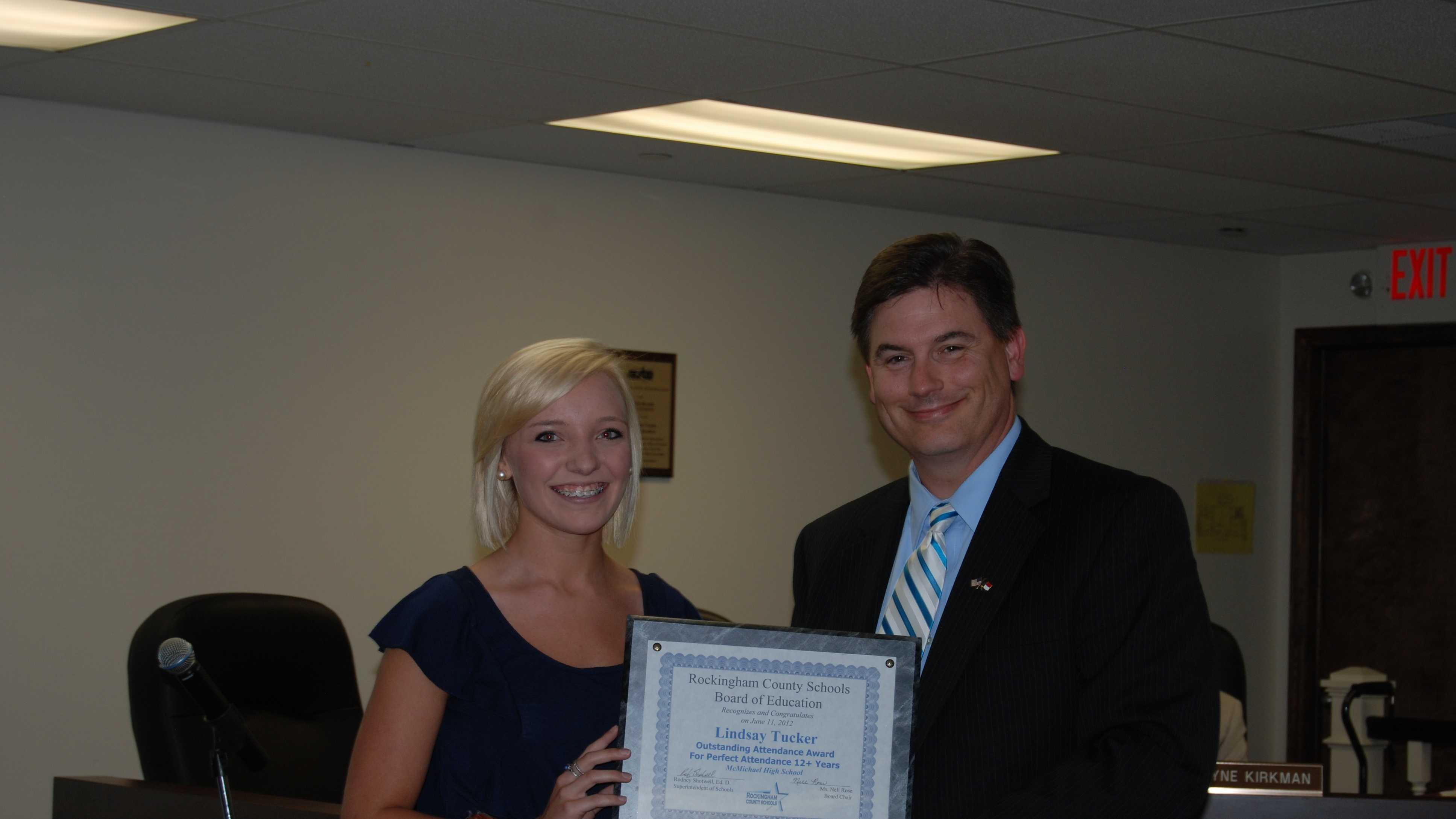 Lindsay Tucker (photo by Rockingham County Schools)