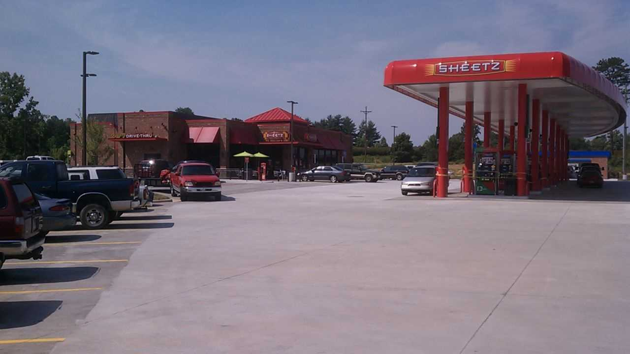 Sheetz will open Thursday in Mount Airy. (Photo by WXII's William Bottomley)