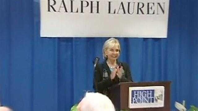 Gov. Bev Perdue speaks at Thursday's news conference.