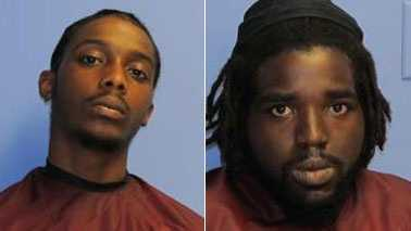 Kevontae Bronson, left, and Stephen Thaxton, right (Eden police)