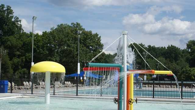 Tanglewood Park Aquatic Center (Courtesy Tanglewood Park)