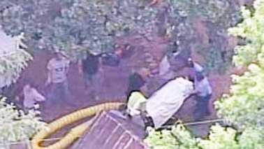 Rescue of teen who fell into well (Courtesy WYFF)