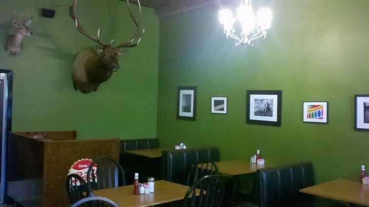 Chip Slate says his favorite breakfast spot is Slate's Restaurant in Stuart, Va.