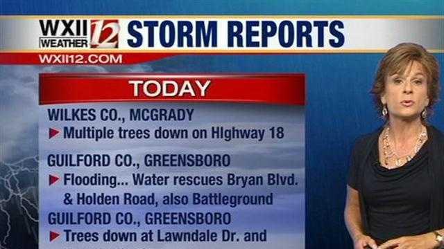 Storm reports, part 2