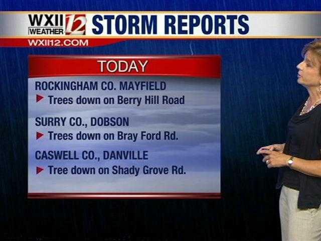 Storm reports, part 1