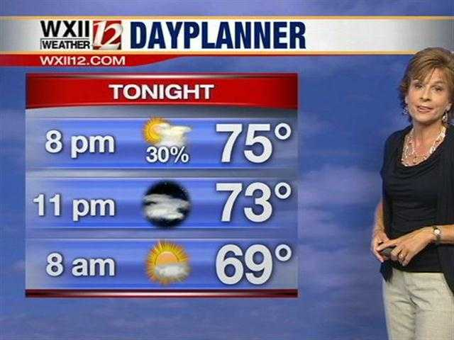 Stay with WXII for the forecast.