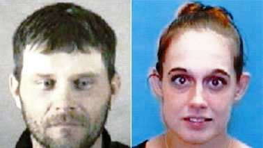 Steven James Blankenship and Misty Ann Fender (Alleghany Co. Sheriff's Office)